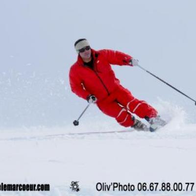 Telemark Carving