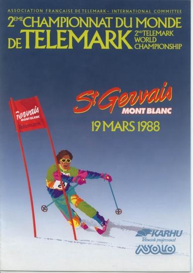 Championnat du monde de telemark en 1988