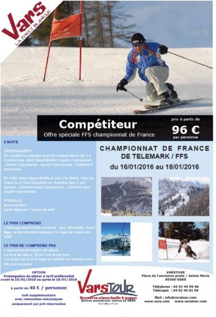 Coupe france telemark vars 2016