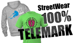 Telemark-Coeur Streetwear 100% Telemark